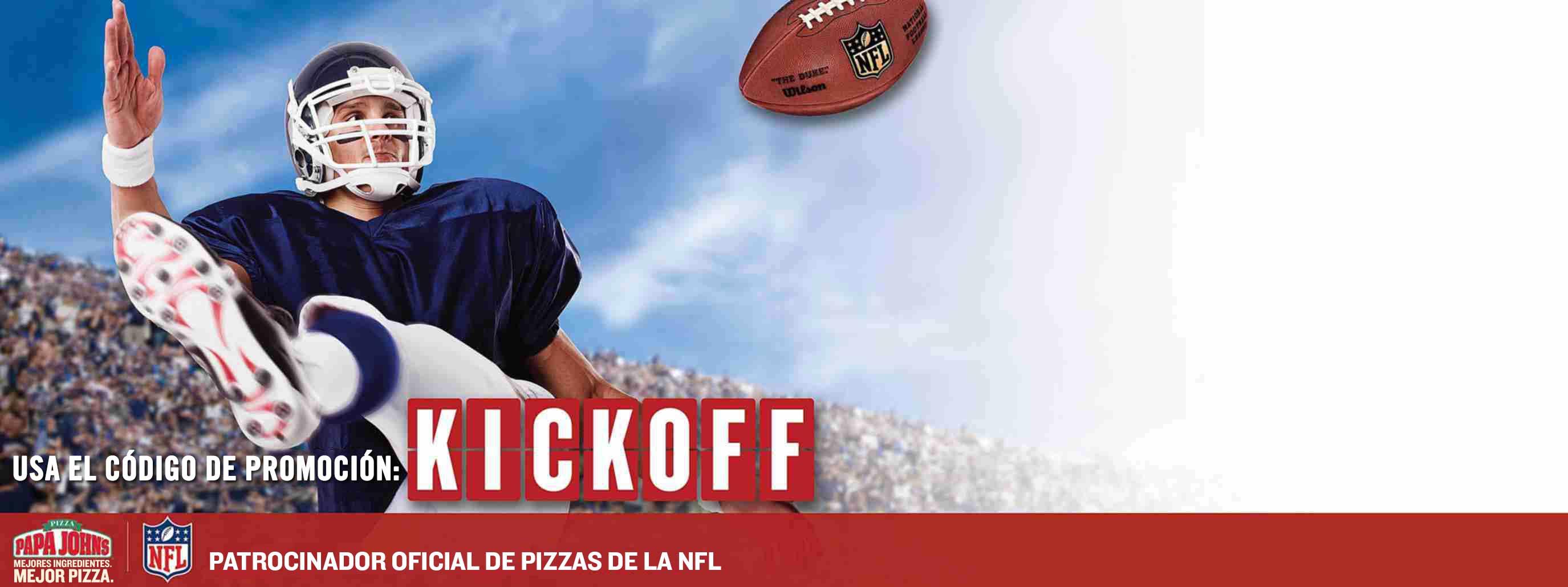 Pizza GRATIS disponible el día posterior a tu pedido en línea de $15 o más.